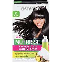 Garnier Nutrisse Nourishing Color Foam Soft Black 2 Ulta