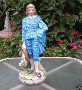VINTAGE HAND PAINTED GAINSBOROUGH BLUE BOY SCULPTURE