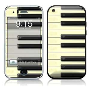 Piano Apple iPhone 3G 3GS Skin Cover Case Faceplate Decal