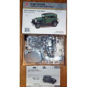 Complete Vintage Wood Scale Model Car Kits 1929 Merceds SSK and