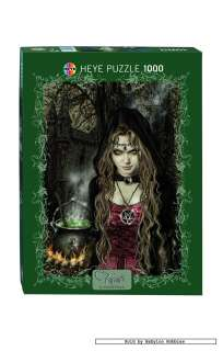 picture 3 of Heye 1000 pieces jigsaw puzzle Victoria Frances   Witch