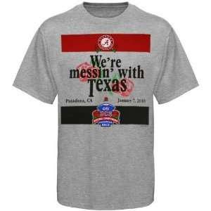 Alabama Crimson Tide Ash 2010 BCS National Championship Messin With