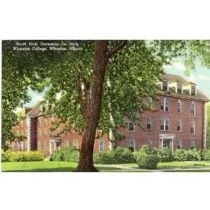 North Hall   Dormitory for Girls   Wheaton College   Wheaton Illinois