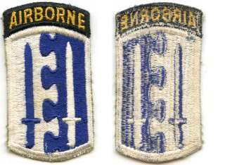 WWII 2nd Airborne Infantry Brigade Patch