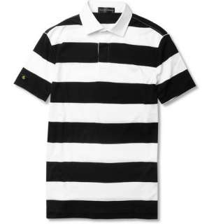 Ralph Lauren Black Label Striped Cotton Polo Shirt  MR PORTER