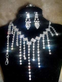 Wholesale9set Rhinestone&plate silver Necklace custome