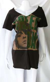 GREEN DAY Billie Joe Armstrong WOMEN T SHIRT TOP M L