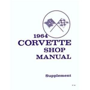 1964 CHEVROLET CORVETTE Shop Service Repair Manual Book Automotive