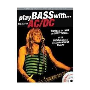 Music Sales Play Bass With The Best Of AC/DC (Book & 2 CD
