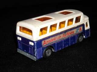 Vintage Lesney Matchbox No.65 Airport Coach 1977