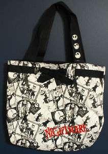 New Disney World JACK SKELLINGTON Nightmare Tote Bag