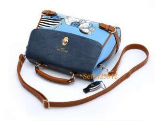 Pu leather Korean style lady ladies girl women handbag shoulder bag