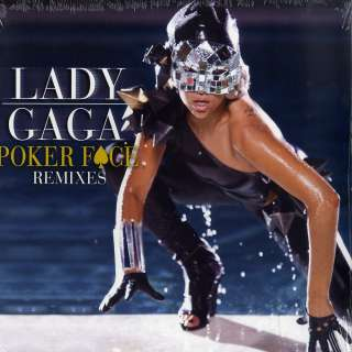 Lady Gaga   Poker Face Remixes (Ltd White 12 Vinyl) NEW + OVP