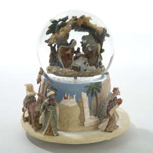 Musical Christmas Glitterdome Snow Globe  Home & Kitchen