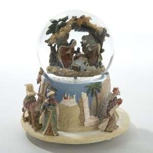 Musical Christmas Glitterdome Snow Globe