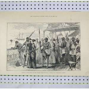 Natives Samoa Islands Selling Weapons Alameda Ship: Home & Kitchen