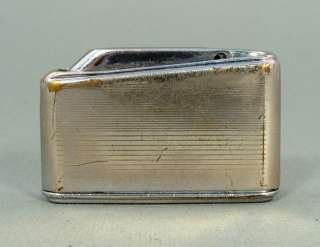 EARLY VINTAGE GERMAN IBELO CHROME GAS CIGARETTE LIGHTER