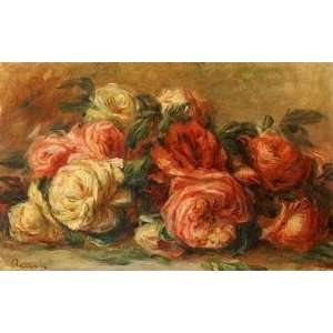 Oil Paintings Discarded Roses Oil Painting Canvas Art Home & Kitchen