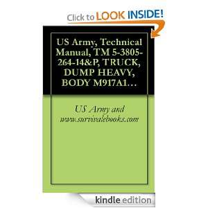 US Army, Technical Manual, TM 5 3805 264 14&P, TRUCK, DUMP HEAVY, BODY