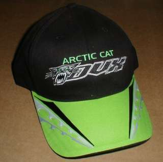 Arctic Cat DVX patch Snowmobile S M Small Med New Sample Hat Black