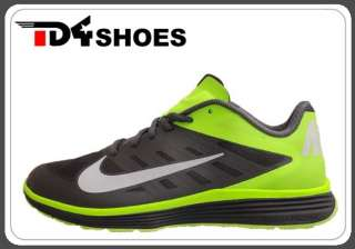 Nike Lunar Vapor Trainer Dark Grey White Volt 2012 Men Training Shoes
