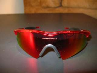 58407effa59 ... Oakley M Frame Sweep Crystal Red W + Red Ird 09 192 Sunglasses Free ...