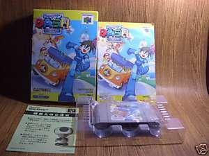 NINTENDO 64 Rockman Dash 64 Capcom Mega man jp Rare