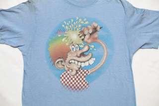 GRATEFUL DEAD ICE CREAM KID ORIGINAL CONCERT TOUR T SHIRT RARE 1970S