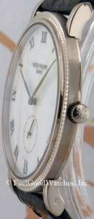 Patek Philippe 3919G Calatrava, White Gold, MINT