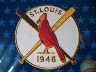 MLB St Louis Cardinals 1946 World Series Champion Patch
