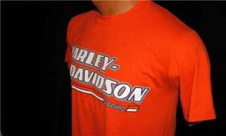 NEW HARLEY DAVIDSON MOTORCYCLE T SHIRT RACING HOUSTON TEXAS ASTRODOME
