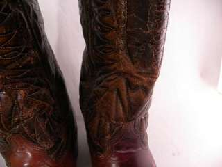 Wrangler Brown Vintage 9 2 E Mens Western Boots