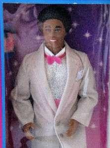 1985 Barbie Mattel Dream Glow Ken African American Doll NRFB In