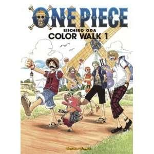 One Piece Color Walk 1  Eiichiro Oda Bücher