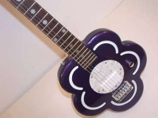 DAISY ROCK Daisy Short Scale Electric Guitar,Purple,NEW