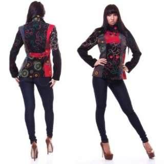 Luxus Damen Wintermantel Winterjacke Blazer Winter Jacke Mantel