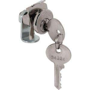 Prime Line Mail Box Lock, 5 Pin, Dura Steel Nickel Plated Clockwise S