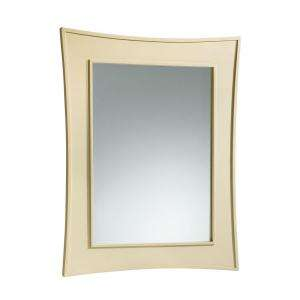 in. x 30 in. Framed Wall Mirror in Vellum K 2458 F11