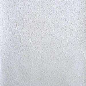 The Wallpaper Company 56 Sq.ft. White Paintable Wallpaper WC1285671 at