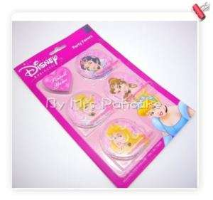 Disney Princess Birthday Party Favors Pinball Game 4 pc