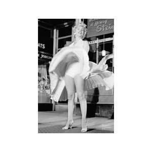 Marilyn Monroe Skirt Up , Poster , 610 x 915 mm,  Küche