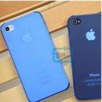 5mm Ultra Thin iPhone 4 4S Phone Case Cover Color Sanded 0.5 mm