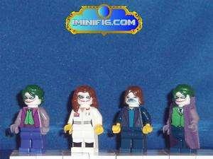 Custom LEGO minifig Batman Joker complete set #00bA