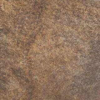 MARAZZI Granite Marron 12 in. x 12 in. Glazed Porcelain Floor & Wall
