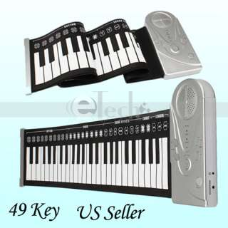 Perfect 49 keys Rolls Up Soft Electronic Keyboard Piano High Quality