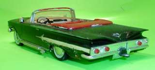 AMT SMP 1960 Chevy Impala Convertible Annual Original Model Parts Car