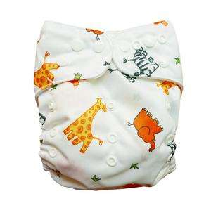 AIO RE USABLE baby cloth diapers nappies 1 insert E05