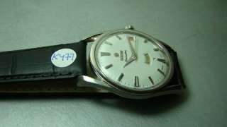 AIRMASTER 41J AUTO DAY DATE SWISS MENS WATCH OLD USED ANTIQUE