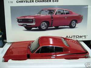 CHRYSLER Dodge Charger $9 V8 Muscle Car rot AA 118