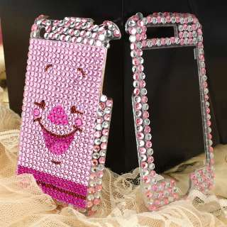 Pink Piglet Diamond Case Cover For Phone iPhone 3G 3GS
